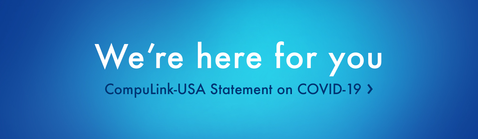 CompuLink-USA Statement on COVID-19